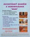Kuchyňský hadřík z mikrovlákna Duo CENTRUM SERVICE