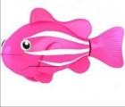 Robo ryba tropická - hračka do vody - růžová