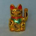 Čínská kočka pro štěstí 15 cm