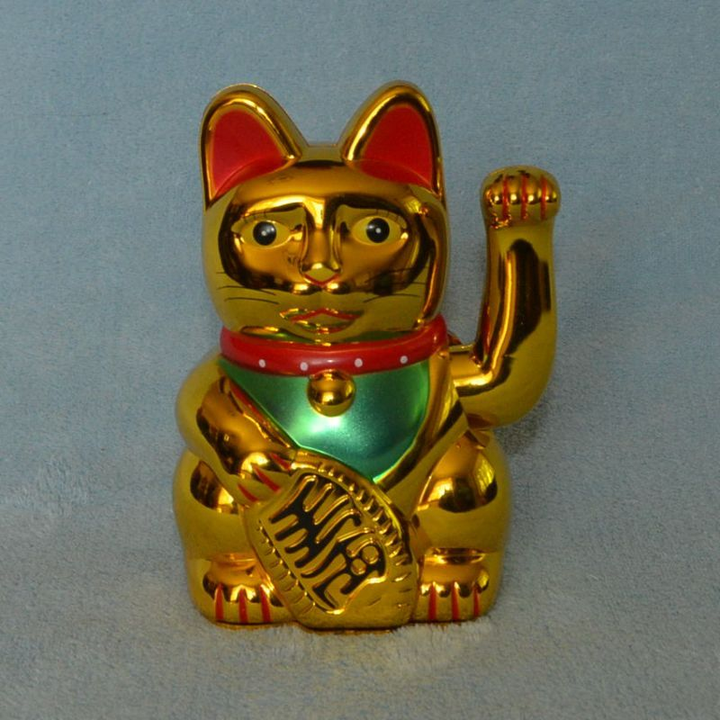 kočka pro štěstí maneki neko