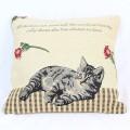 Kočičí povlak na polštář - mourek