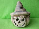 Halloweenská dýně s kloboukem
