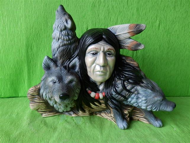 Indián s vlky