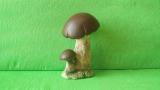 Keramická houba - hřib pravák menší
