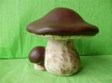 Keramická houba - hřib pravák velký