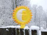 Plotovka - slunce půltvář