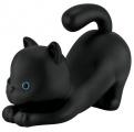 Pokladnička líná kočka černá