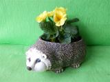 Keramický květináč ježek