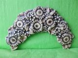 Zobrazit detail - Keramický nástěnný  půlvěnec slunečnice