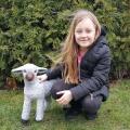 Soška velká bílá ovečka