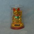 Čínská kočka pro štěstí 18 cm s podstavcem