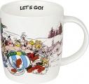 Asterix a Obelix Let´s go! - hrnek