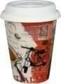 Cosmopolitan Coffee Style/Italy - hrnek se silik.víčkem