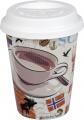 Cosmopolitan Coffee /Scandinavia - hrnek se silikon.víčkem