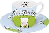 Hrnek Globetrotter/Cow - espresso - kráva