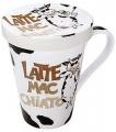 Hrnek s víčkem Mr. Latte Mac Chiato  - Býk