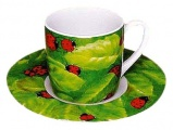 Hrnek Ladybird - Beruška espresso