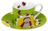 Hrnek Globetrotter/Ladybird- espresso - beruška