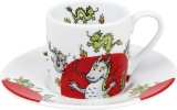 Hrnek Globetrotter/Dragon espresso drak