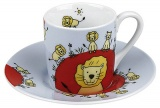 Hrnek Globetrotter/Lion- espresso - Lev