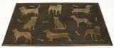 Rohožka gumová Devět psů s kostí