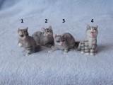 Soška kočka tygrovaná I.