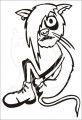 0045 Samolepka Emo kočka