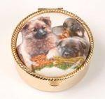 Lékovka kulatá pes - německý ovčák štěňata