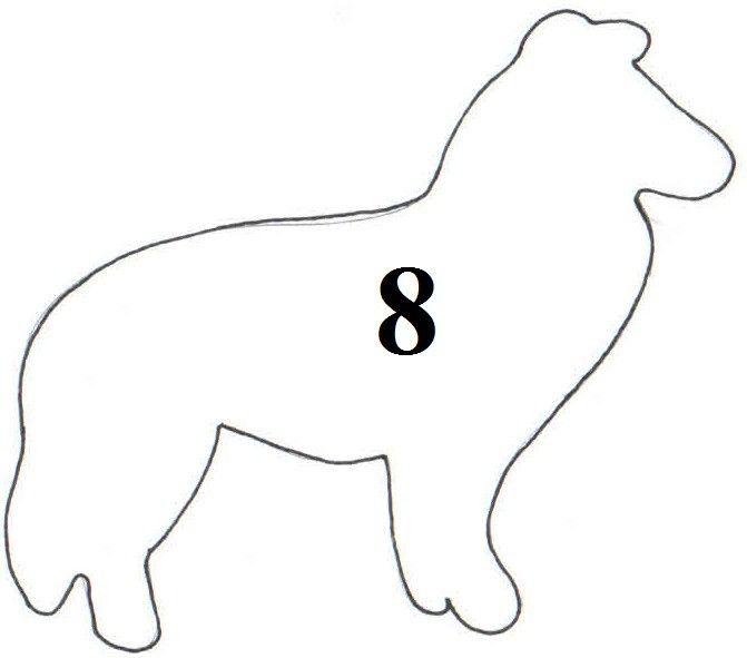 Vykrajovátko - formička pes střední 2674