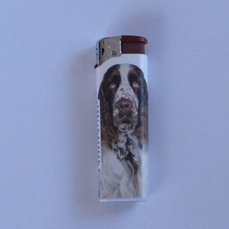 Zapalovač Dog Head hnědý