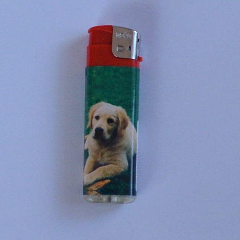 Zapalovač Happy Dog červený