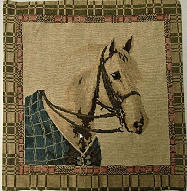 povlak na poštář s koněm
