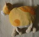 Plyšová hračka - polštář - kočka Bobina