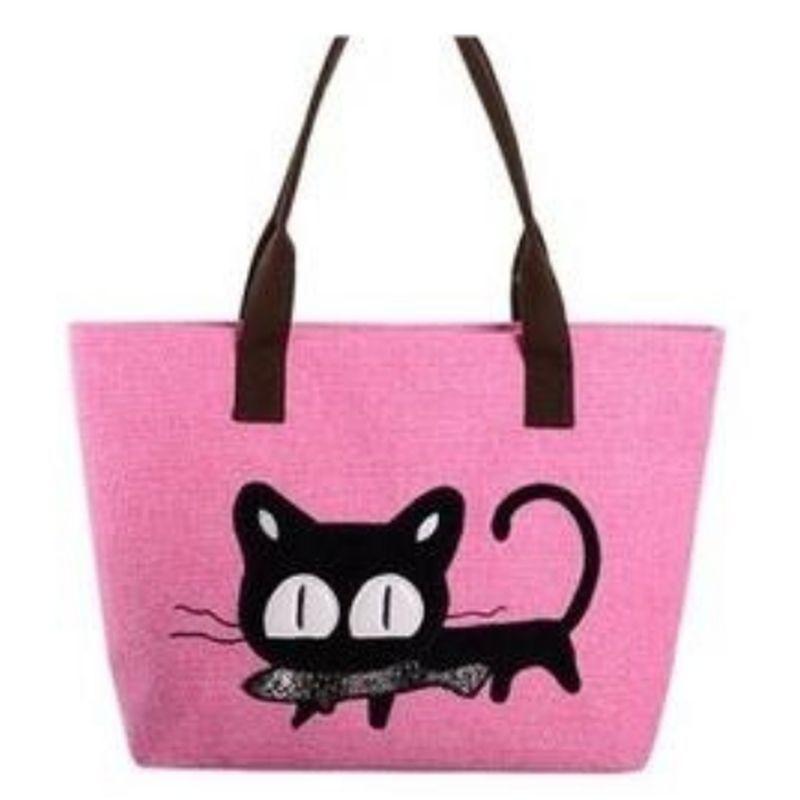 kočičí kabelka růžová