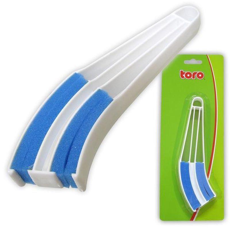 Čistič žaluzií plastový s houbičkou značky TORO