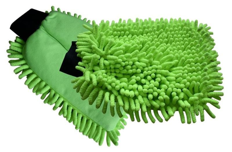 Čistící rukavice na prach z mikrovlákna značky TORO