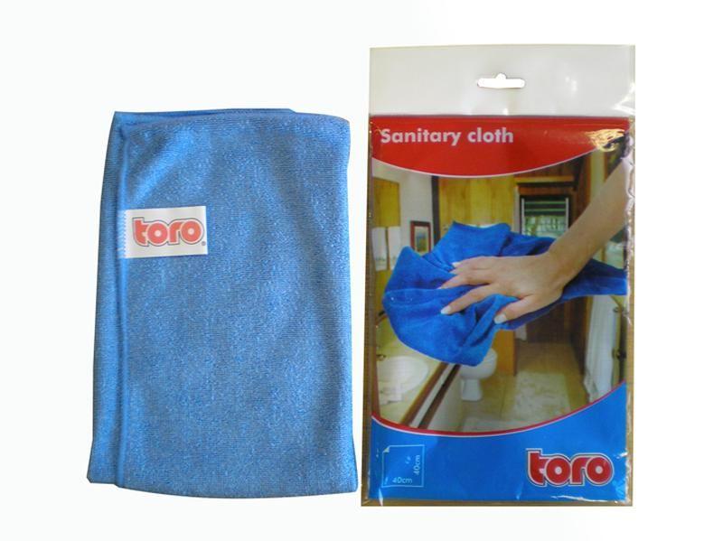 Utěrka z mikrovlákna na sanitu značky TORO