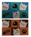 Rohožka s kočkami