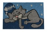 Rohožka spící kočka