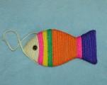 Škrabadlo pro kočku - sisalová ryba
