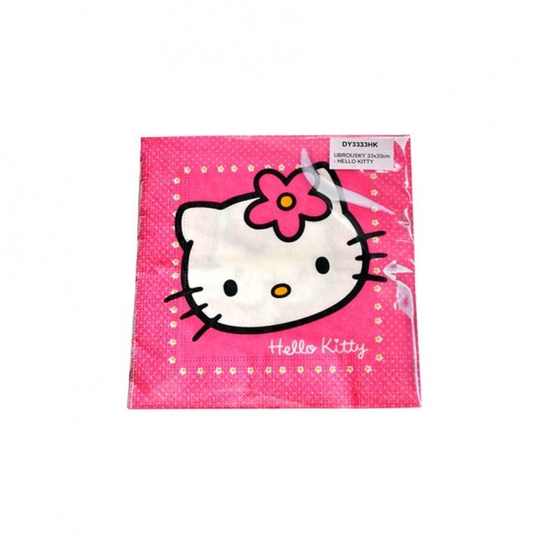 Ubrouskys kočkou HELLO KITTY 15 ks