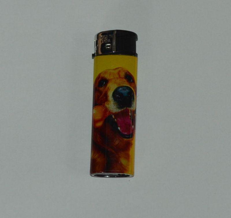 Zapalovač Dog head - pes s hračkou