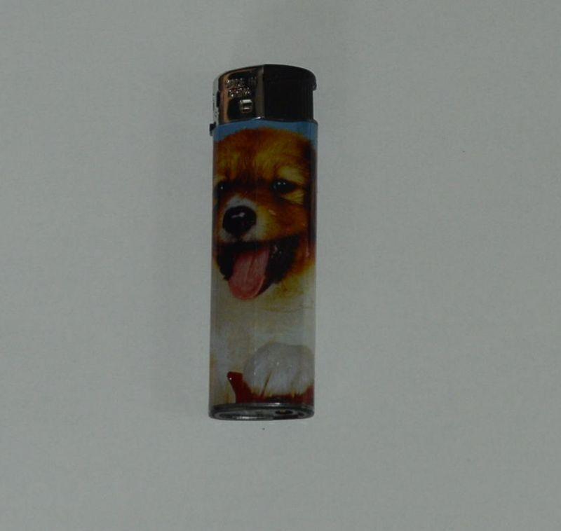 Zapalovač Dog head - roztomilé štěně