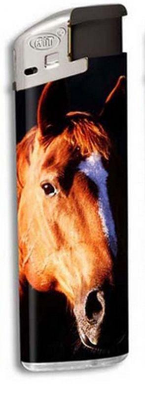 Zapalovač Horse head - hnědý kůň