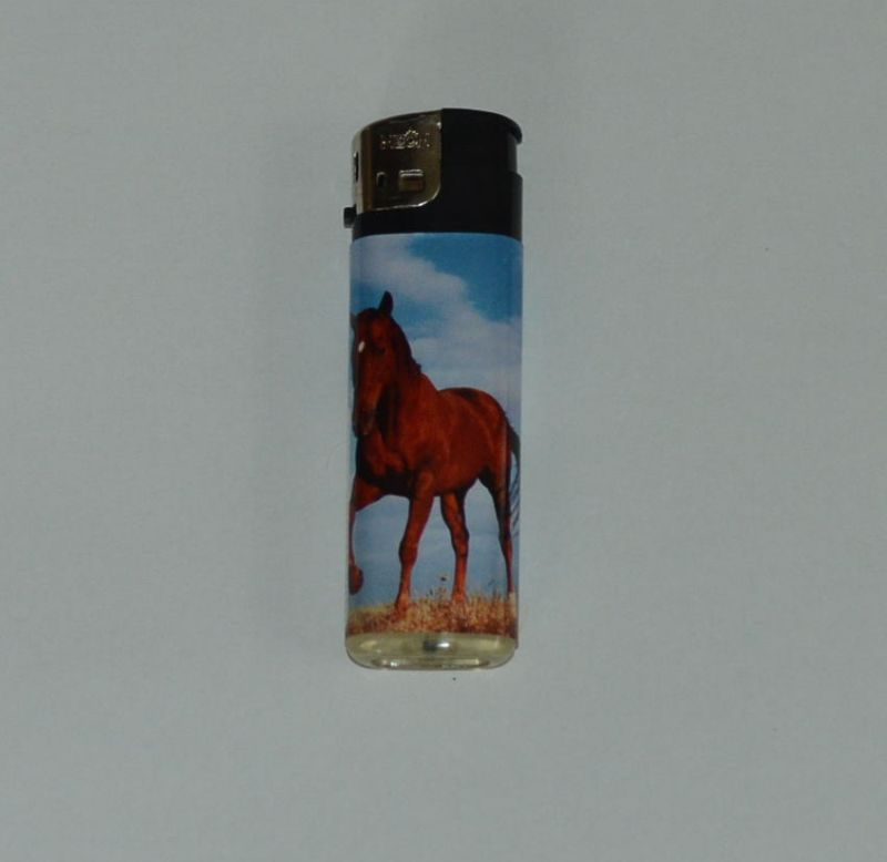 Zapalovač koňská krása - hnědý kůň