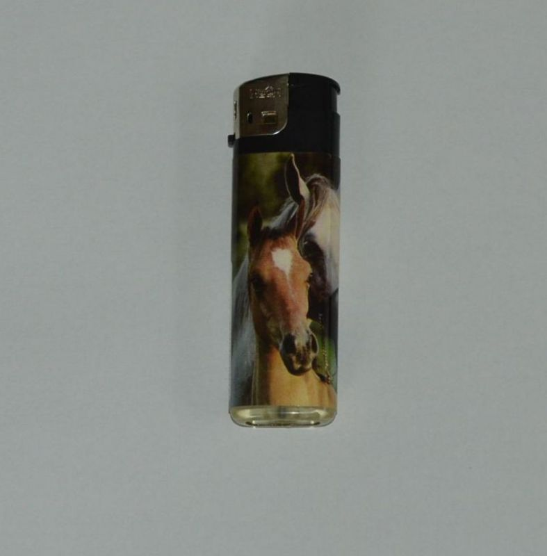 Zapalovač koňská krása - kůň a hříbě