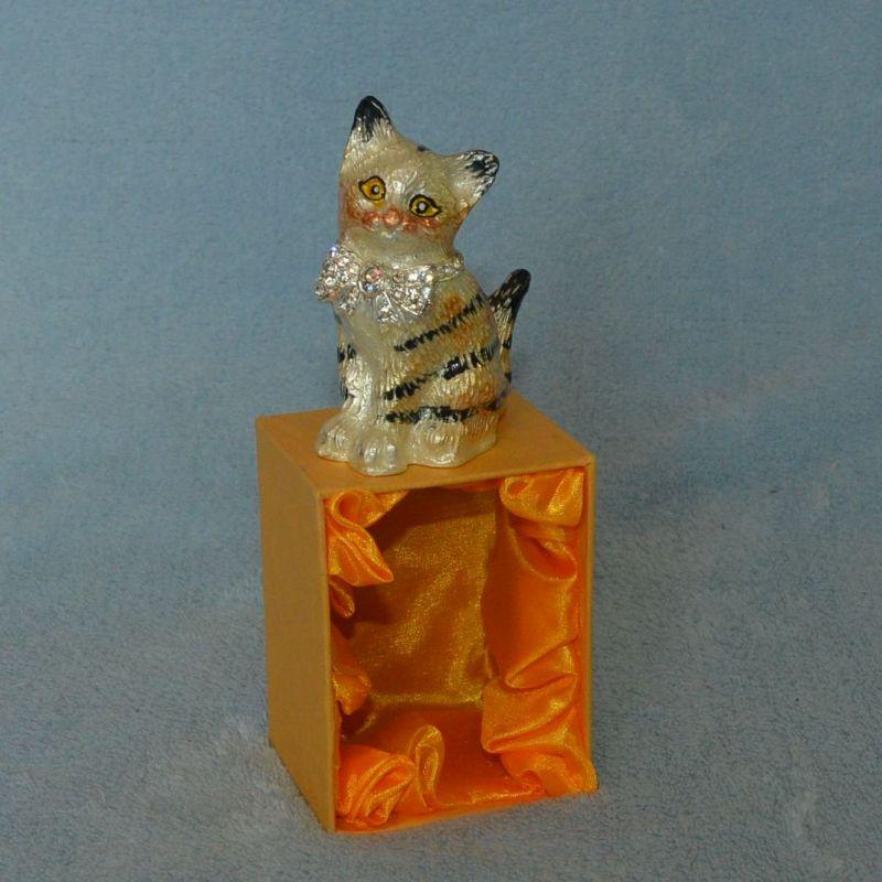Šperkovnice zlatá kočka