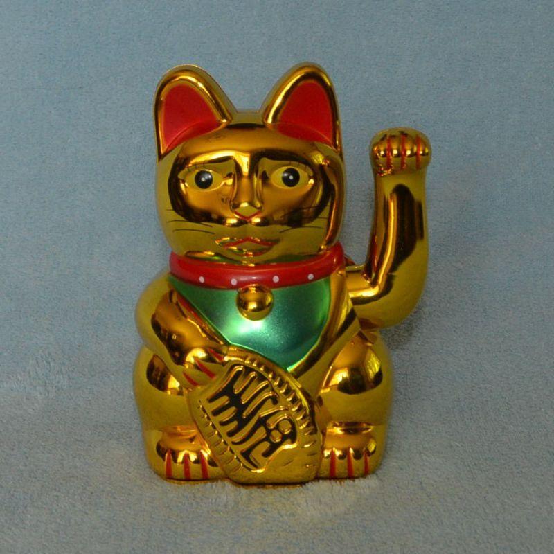 maneki neko kočka pro štěstí