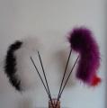 Škádlítko / mávátko pro kočky Feather noodle