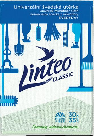 Univerzální švédská utěrka linteo Classic z mikrovlákna